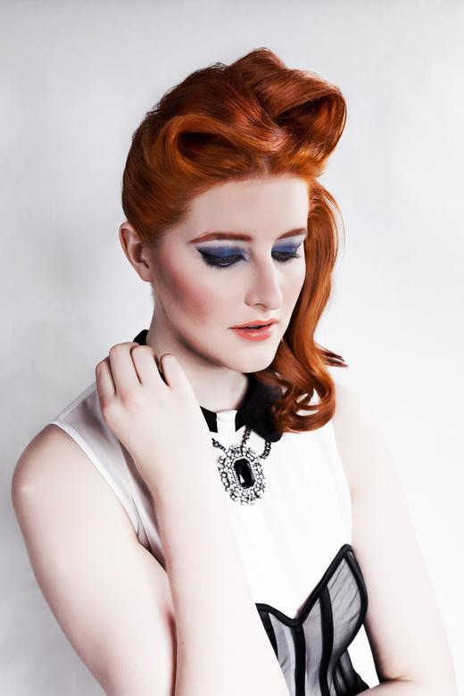 Iris Hertroijs - Entry Coiffure Award 2014<br /> Hair by: Linda Prijs