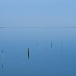 Avond over de Gouwzee
