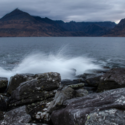 Isle of Skye, Elgol beach, before sunrise