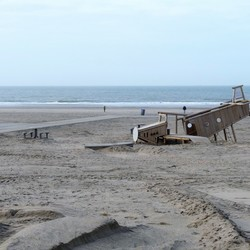 P1470860 Hv Holland strand 4 dagen na de STORM 22jan 2018