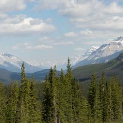 Uitzicht in Canada