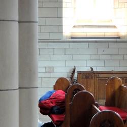 In de Kerk vindt je altijd rust....