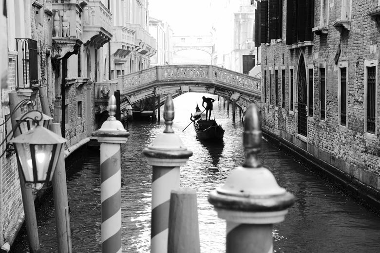 Venetië - Italië - Typisch beeld van Venetië, Italië.<br /> <br />