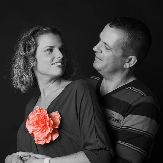 Joyce en Michiel - Fotoshoot met mijn collega en zijn vriendin, hier een van de foto's.