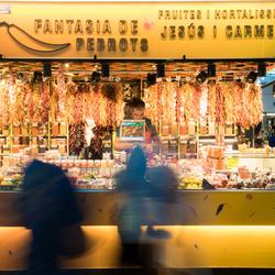 Pepertjes kopen in Barcelona