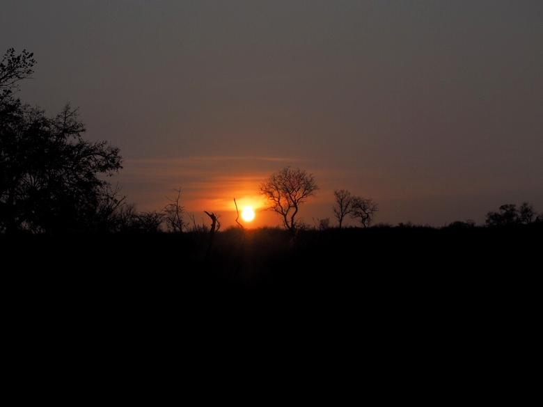 Zuid Afrika sunset