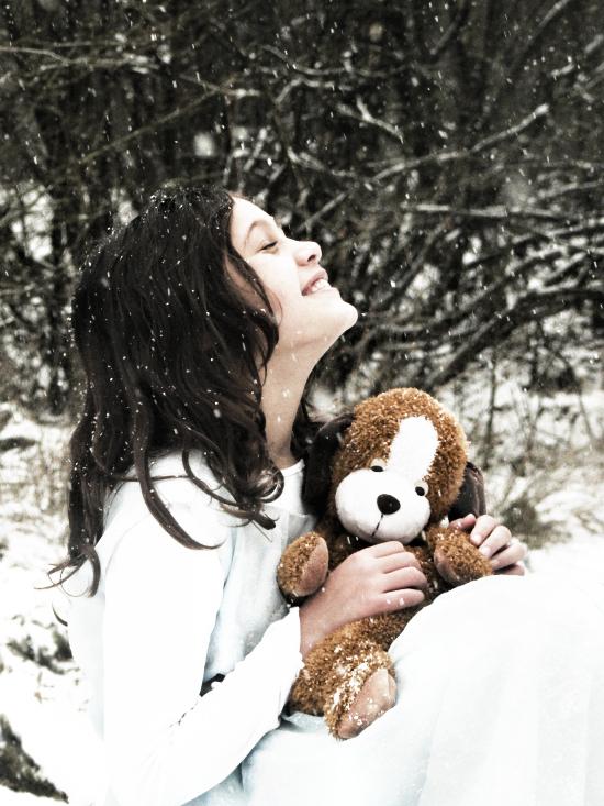 Sneeuwprinsesje - Mijn zusje Dominique!