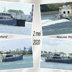 collage   H v H Waterweg  HST Sofia  Swansea  2 mei 2020