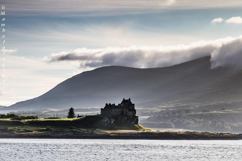 Schotland - Duart Castle, Mull in de ochtend gloren