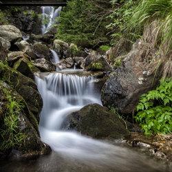 Gedeelte Todtnau watervallen Schwartzwald