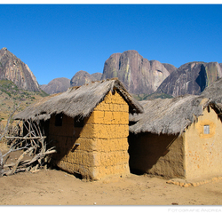 Village in Tsaranoro Valley