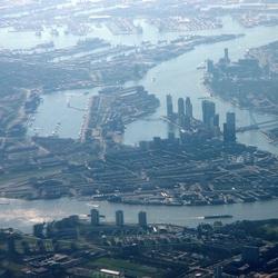 Rotterdam v. u. de lucht