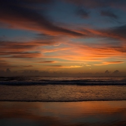 Twilight at Fraser Island 1
