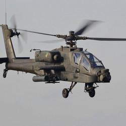 Apache flypast