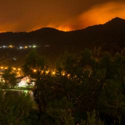 Brand op Samos
