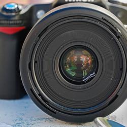 Nikon D60 fotografeert D80!!!
