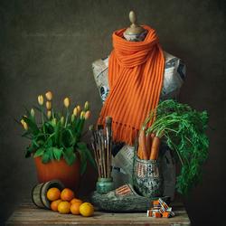 Unframed Imagination Series - Oranges