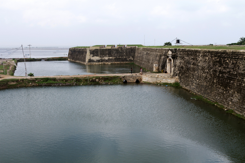 Oud VOC fort bij Jaffna - Dit is een foto van een Nederlands fort in het noorden van Sri Lanka bij Jaffna.