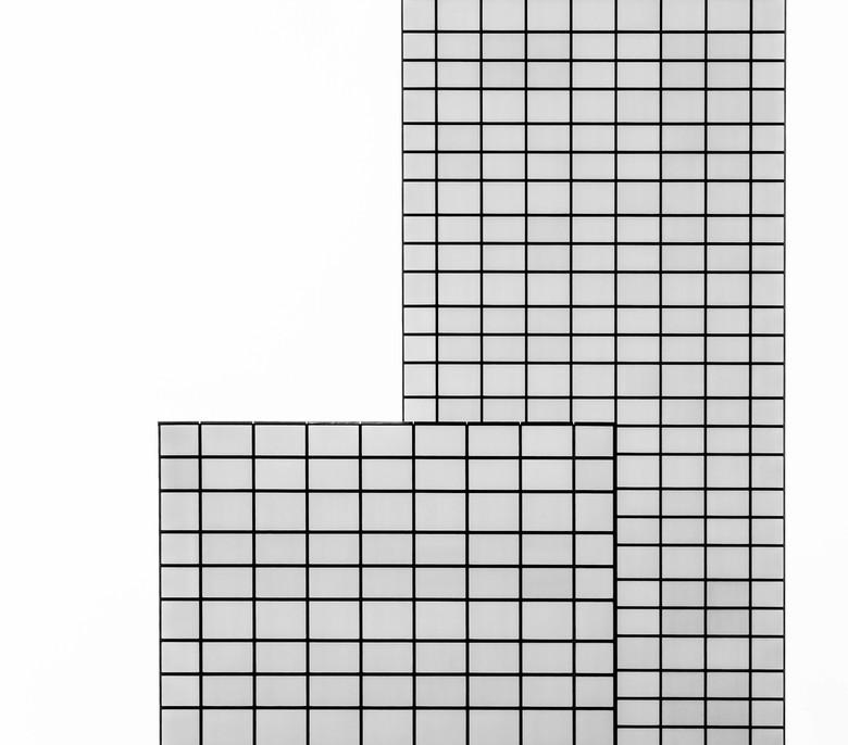 delftse poort - Grafische verbeelding van een stukje van de 'Delftse Poort'