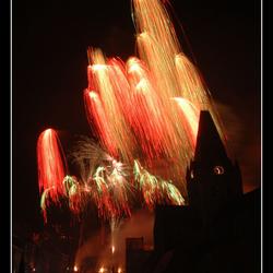 Vuurwerk Geraardsbergen 02/09/2011