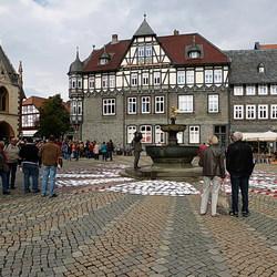 Marktplein Goslar.