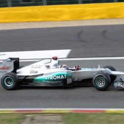 Schumacher Spa 2012