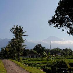 vulkanen op Lombok
