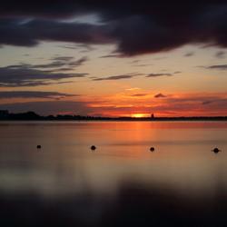Gooimeer sunset