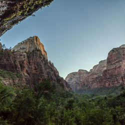 Weeping Rock in Zion NP