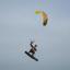 Kite-surfer Zandvoort