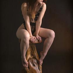 I always put my models on a pedestal ...