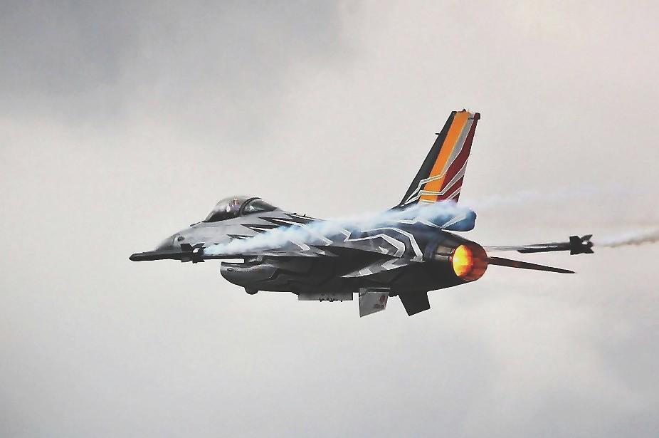 F-16 FA123 BAF