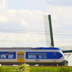 Energiezuinige trein.