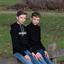 Eeneiige tweeling Douwe en Gijs 2