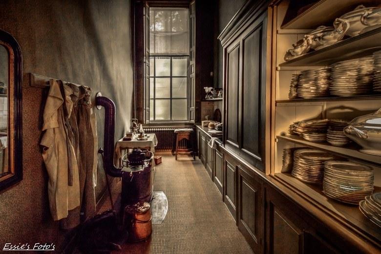 Oude Bijkeuken - Oude bijkeuken in het Huis van Gijn Museum