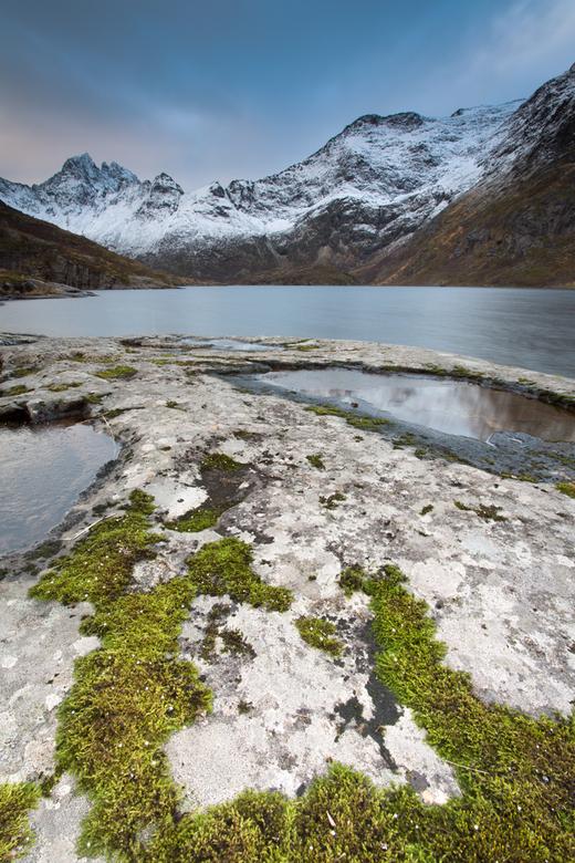 Het meer Agvatnet