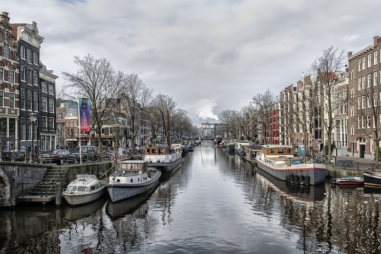 Amsterdam - het centrum van Amsterdam