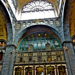 Het station van Antwerpen