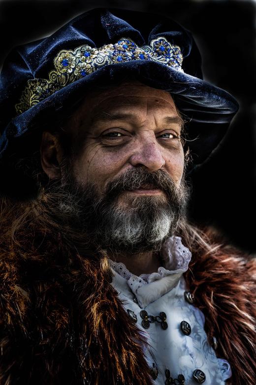 Henry de 8e ? - Deze Heer figureerde in Elfia in Haarzuilens, vond het zelf een man met een schitterende uitstraling.