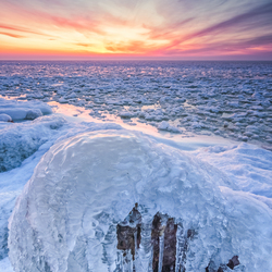 Een ijzige kust