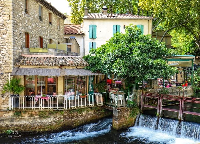 Fontaine-de-Vaucluse - Hier kan je lekker eten in een heel gezellig Italiaans restaurant.