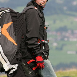 Stoere paraglider