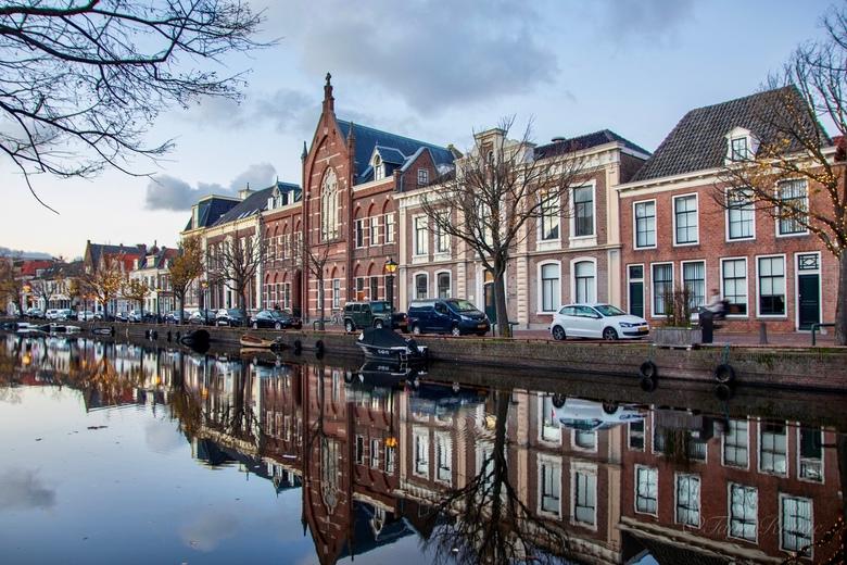 Reflection  - De Oudegracht in Alkmaar