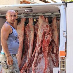 vlees verkoop Griekenland