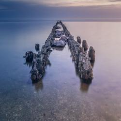 Een kalm IJsselmeer
