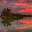 Zonsondergang bij Dakhorst