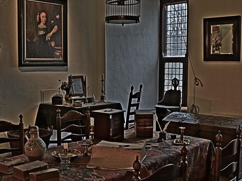 Interieur kasteel Doorwerth -