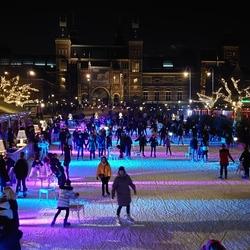 Museumplein Amsterdam Kerstavond 2019