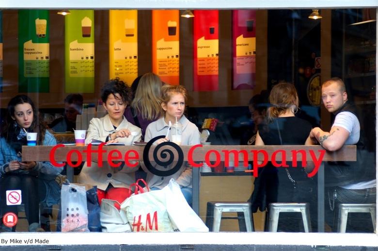 Coffee Company - Foto geschoten op de dam!.