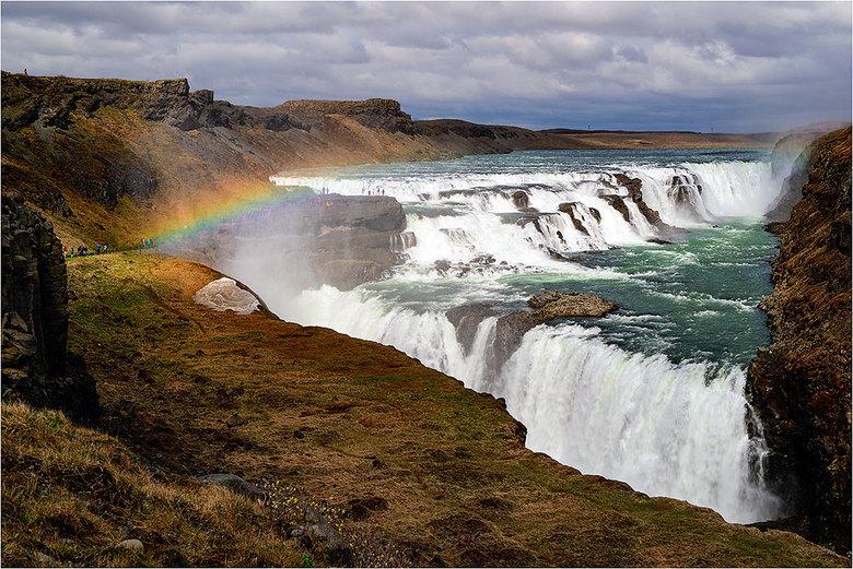 Gullfoss - Gullfoss, IJsland